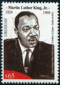 HERRICKSTAMP NEW ISSUES URUGUAY Dr. Martin Luther King, Jr.