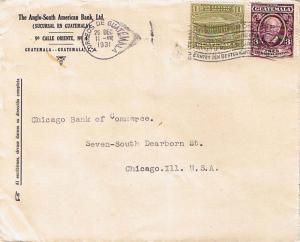 Guatemala 3c Montufar and 1c G.P.O. and Telegraph Building Postal Tax 1931 Co...