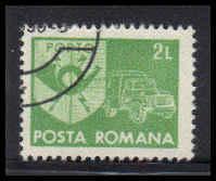 Romania Used Fine D36970