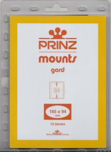 PRINZ BLACK MOUNTS 165X94 (10) RETAIL PRICE $6.50