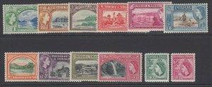 Trinidad & Tobago, Scott 72-83, 282a-283a (SG 267-278), mostly MLH