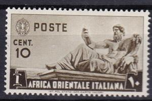 1938 Italian East Africa Scott 4 Statue of the Nile MLH