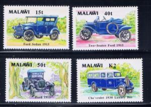 Malawi 562-65 NH 1990 Classic Cars