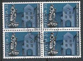 Switzerland - Block - Scott 830 Used