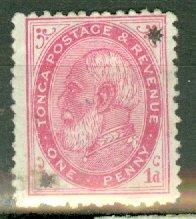 B: Tonga 8 mint CV $50