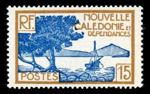 New Caledonia 141 Unused (MH)