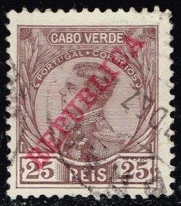 Cape Verde #104 King Manuel II; Used (0.25)