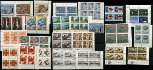 Yugoslavia Blocks Postage Stamps Collection Europa Philately Mint NH