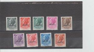 Trieste  Scott#  170-177  MH  (1953-4 Overprinted)