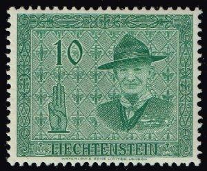 Liechtenstein Stamp 1953 International Scout Conference, Vaduz 10rp  MLH/OGH