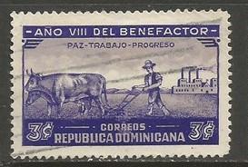 Dominican Republic 329 VFU COWS T500-1