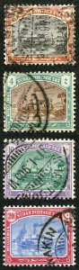 Sudan Post Dues SGD5/8 1901 Set of Four Fine Used