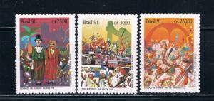 Brazil 2301-03 MNH set Carnivals (B0351)