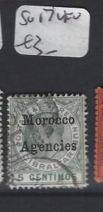 MOROCCO AGENCIES (P2305B)  KE  5C  SG 17   VFU