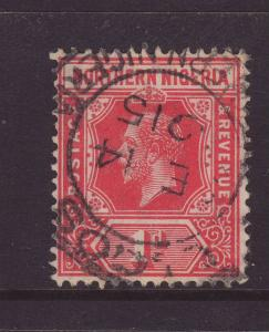 1912 Northern Nigeria 1d – Late Use Fine-Used SG41