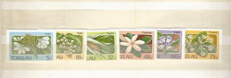 TOKELAU SCOTT 138-43 MNH