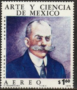 MEXICO C514, Art & Science (Series 5) MINT, NH. F-VF.