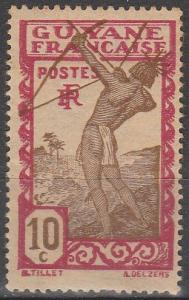 French Guiana #114 F-VF Unused (V4095)