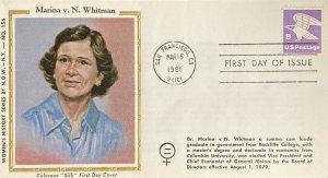 Women's History NOW NYC #156 Marina v. N. Whitman Vice President General Motors