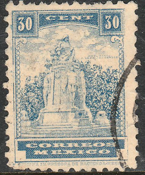MEXICO 716B 30c HEROIC CADETS MON 1934 DEFINITIVE USED (540)