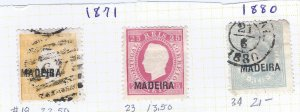 MADEIRA #18 U, 23 MH, 34 U SCV $57.00 STARTS AT 25% OF CAT VALUE