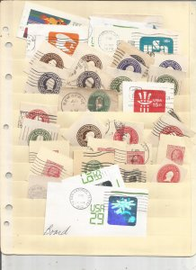 US CUT SQUARE COLLECTION ON STOCK SHEETS