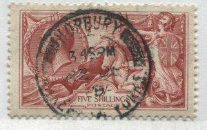 GB KGV 1919  5/ Seahorse CDS used