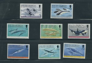 South Georgia 178-85  MNH short set cgs