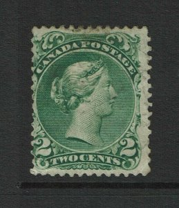 Canada SC# 24, Mint Hinged, Hinge Rems (grocery label Hinge), see notes - S11357