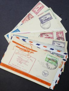 EDW1949SELL : NEW ZEALAND Collection of 14 interesting covers.