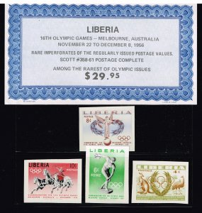 LIBERIA  STAMP 1956 MNH STAMPS LOT