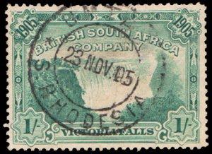 Rhodesia Scott 79 Used with thin.