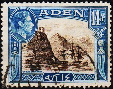 Aden.1939 14a  S.G.23a Fine Used