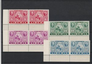 Liberia Postage Centenary Mint Never Hinged 1947 Stamps Ref 35980