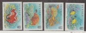 Tuvalu Scott #465-468 Stamps - Mint NH Set