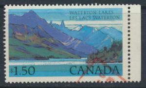 Canada  SG 884c   Used - Waterton Lakes