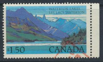 Canada  SG 884c   Used - Waterton Lakes
