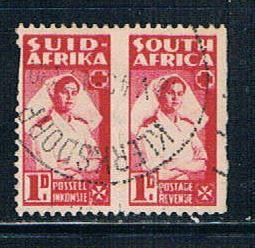 South Africa 91a Used Pair Nurse (S0517)