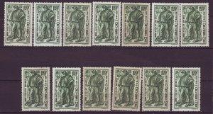 J24597 JLstamps 13 1941 france set of 1 mh #b116 the fisherman