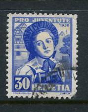 Switzerland #B84 Used (Box1)