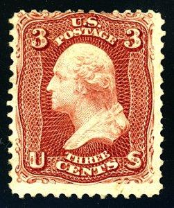 U.S. #104 Mint-Avg-Fine-OG-H PF Cert