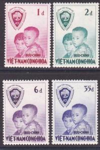 VIETNAM 1956 Operation Brotherhood set fine mint, .........................10559