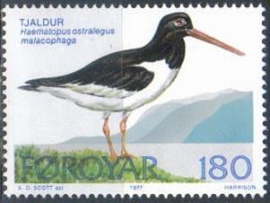 Faroe Islands SC# 29  MNH SCV$0.40