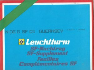 Lighthouse Leuchtturm Supplement N06 G SF 01 Guernsey