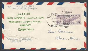 Scott C12, Blanche E. Miller signature, (AAMC Vol III #D1...