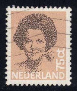 Netherlands #622 Queen Beatrix, used (0.20)