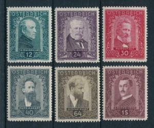 [98586] Austria Österreich 1932 Famous Painters Set MLH