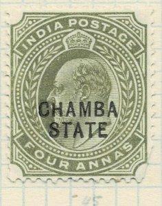 india chamba states- sg 35 -  lmm