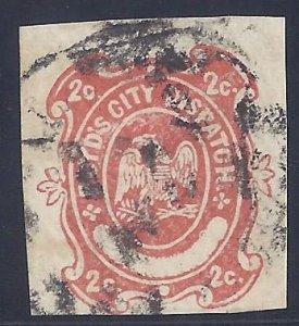 US Local Stamp scott #20LU23 used Fine