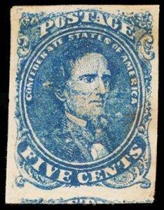 CONFEDERATE STATES 4a  Mint (ID # 100902)